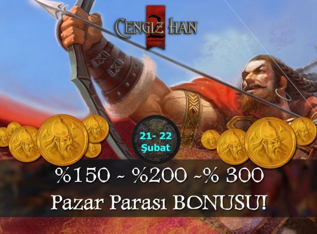 21-22 Şubat'ta %300 PP Bonusu Kazan!