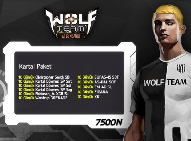 Wolfteam'de Kartallar Yüksek Uçar!