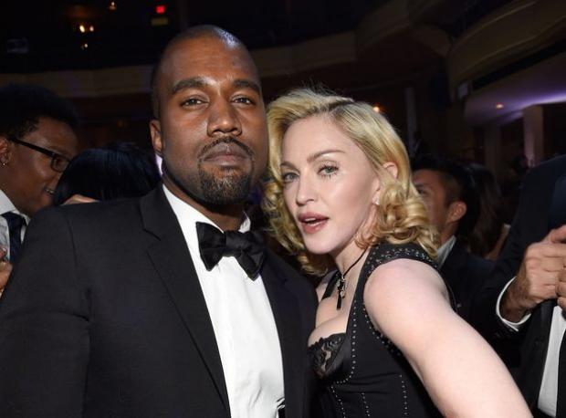 Sadece Madonna ve Kanye West Değil
