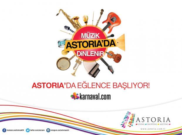 Astoria'da Eğlence Göksel Konseriyle Başlıyor