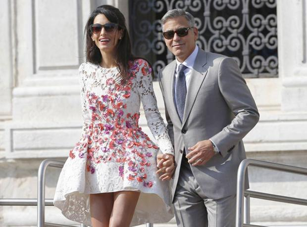 Clooney'e Servet Değerinde Hediye!