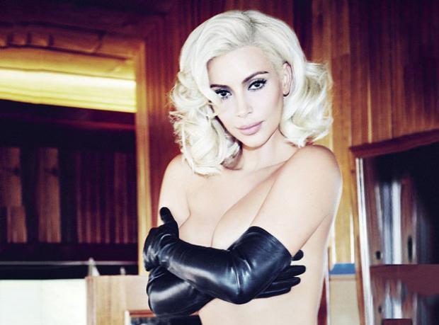 Kim Kardashian'dan 'Marilyn' Pozları!