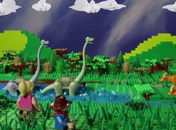 Jurassic Park LEGO'landı!