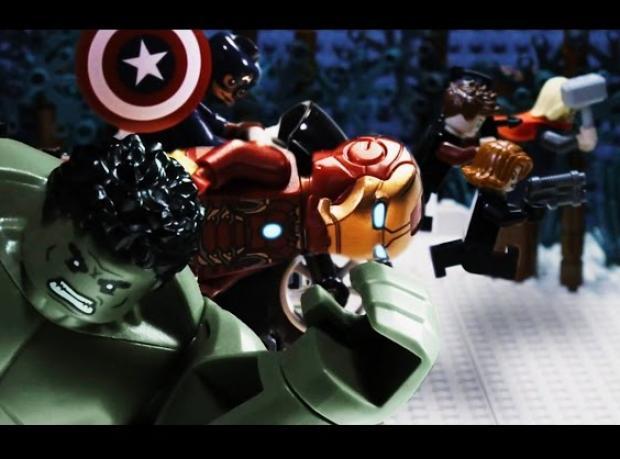Avengers da Legolandı!