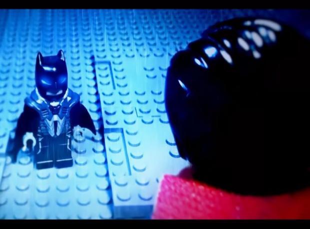'Batman v Superman' Lego Versiyonuyla Geldi