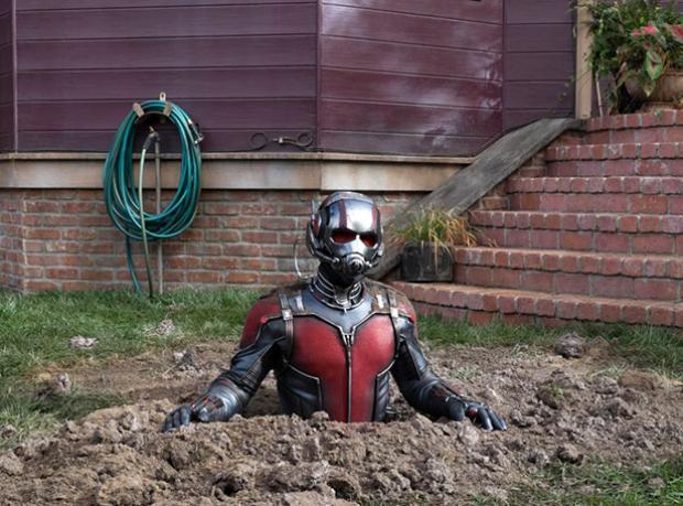 Ant-Man'den Yeni Görüntüler!