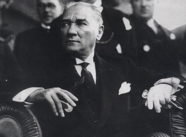 Atatürk'ün Yayınlanan İlk Fotoğrafı!