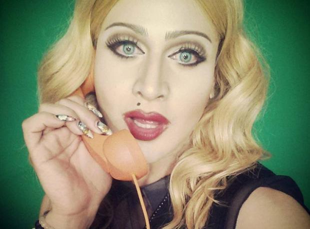 Madonna Olamadı!