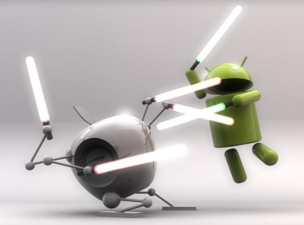 Android'den Dev Atak