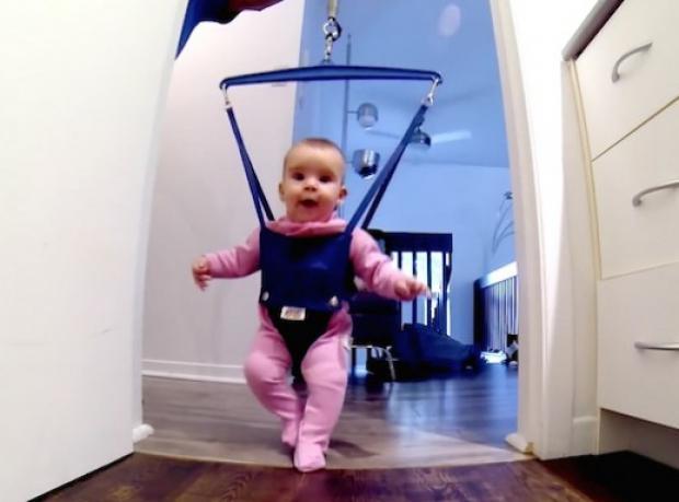 Dünya Bu Bebeğin Dansını Konuşuyor!