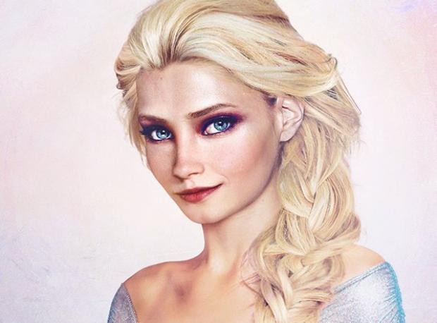 İşte Gerçek Elsa