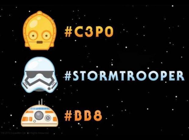 Twitter'da Star Wars Emojileri