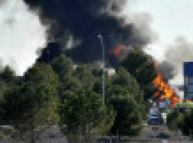 İspanya'da Yunan F-16 savaş uçağı düştü