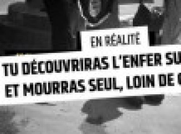 Fransa'dan cihatçı örgütlere karşı video