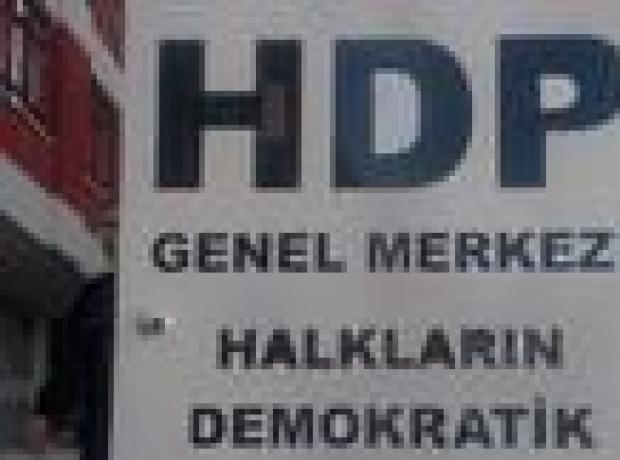 HDP'ye saldırı: İki kişi gözaltında