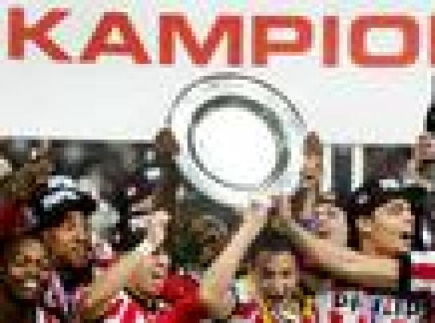 PSV şampiyonluğu hasta taraftarına armağan etti