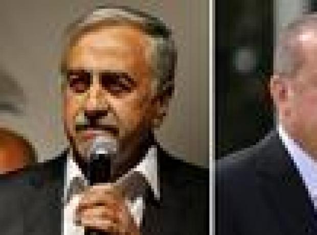 Erdoğan ve Akıncı arasında 'yavru vatan' polemiği
