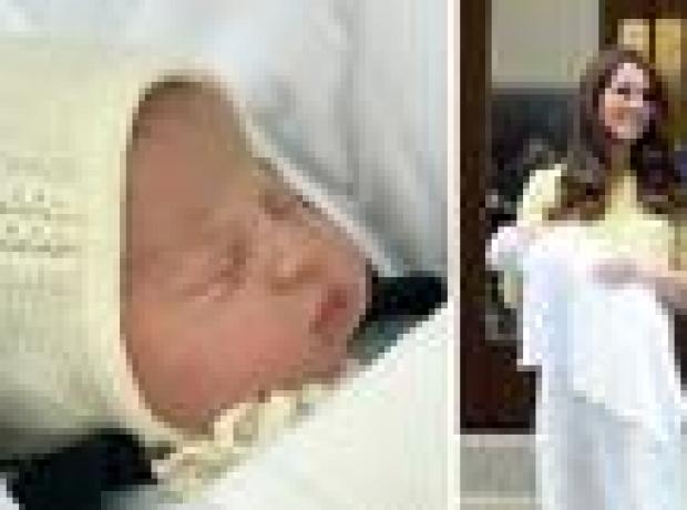 İngiltere'nin yeni doğan prensesinin adı Charlotte Elizabeth Diana