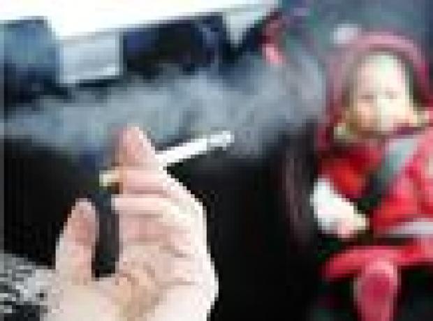 Çocukların bulunduğu araçta sigara yasağı