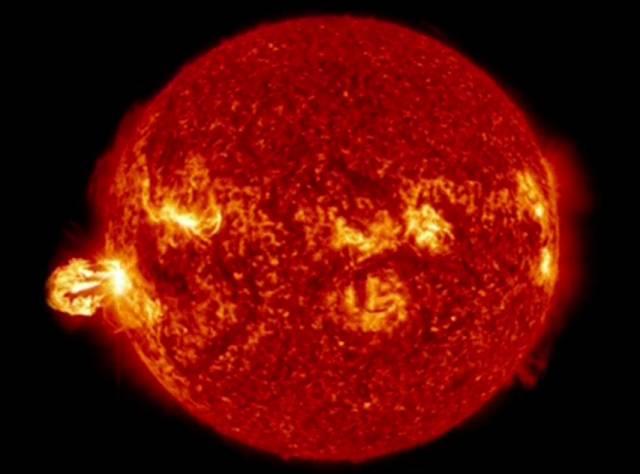 Güneş'teki patlamaların görüntüleri yayımlandı