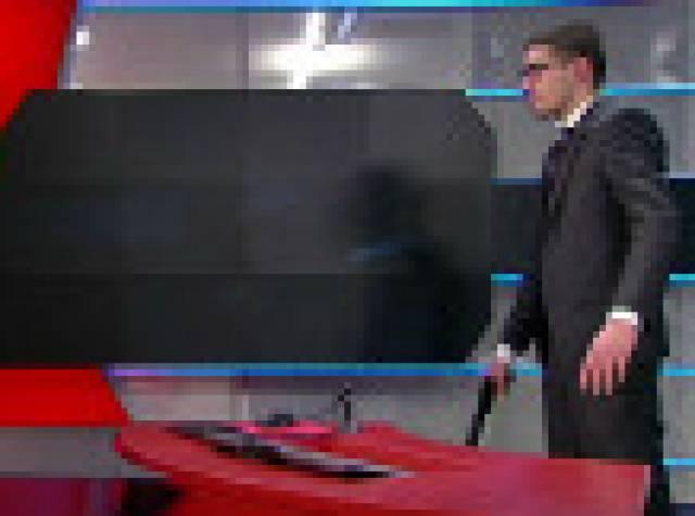 Televizyonun haber stüdyosuna silahlı baskın
