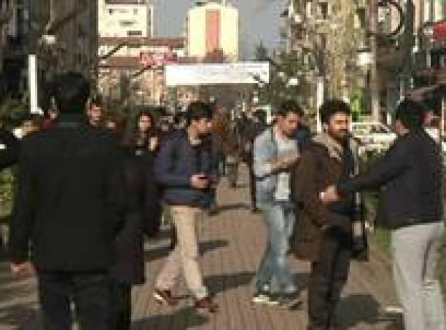 Diyarbakır sokakları iyimser