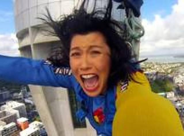 BBC muhabirinin 192 metreden korku dolu atlayışı