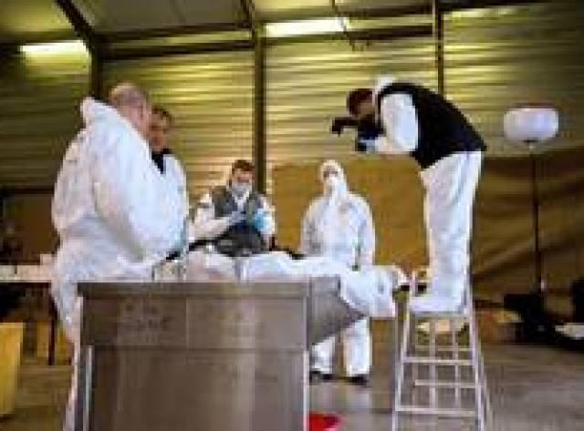 Germanwings kurbanlarının gömülebilecek cesedi yok