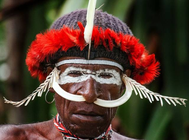 Endonezya'dan Kabile Portreleri
