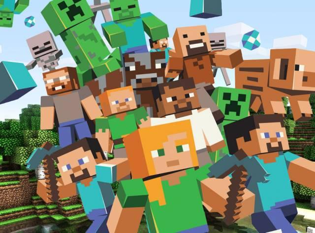 Minecraft'ta Tanıdık Dünyalar