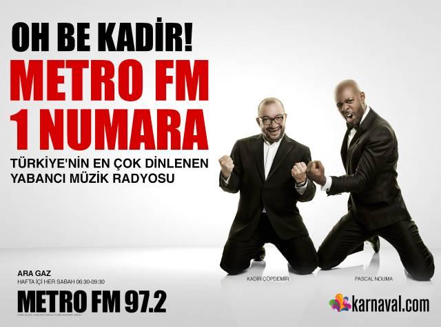 Metro FM 1 Numara!