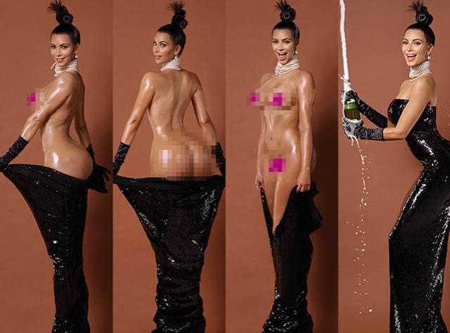 'Porno'nun Zirvesinde Kardashian Var!