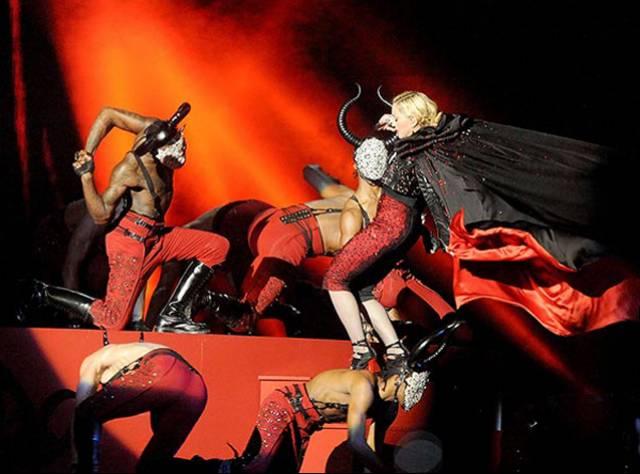 Madonna Aslında Neden Düştü?