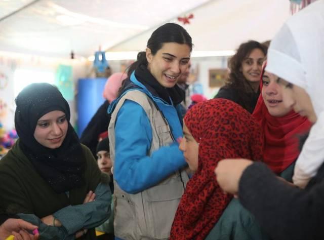 Büyüküstün Mülteci Kampında