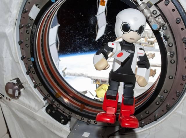 Robot Astronot Kirobo Rekor Kırdı!