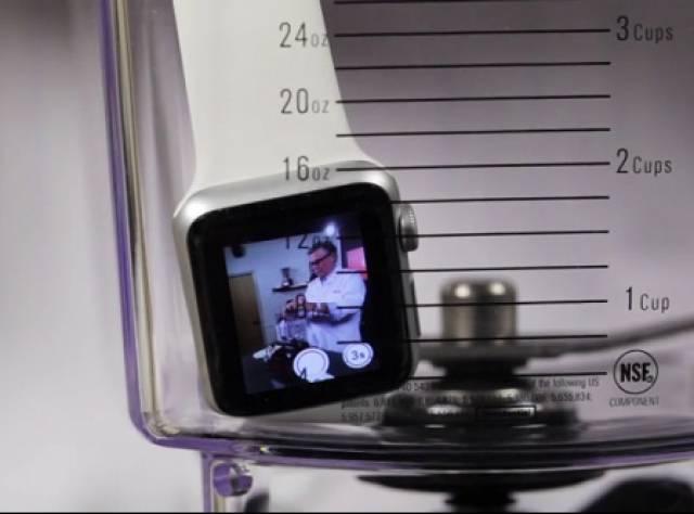 Apple Watch'u Miksere Attılar