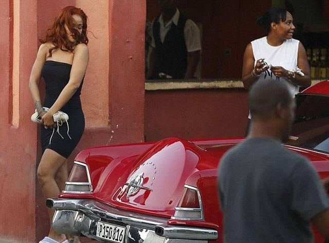 Rihanna Küba'da!