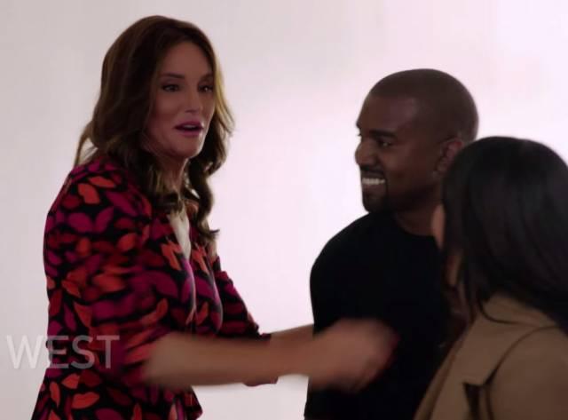 Kanye West Caitlyn Jenner ile Tanıştı