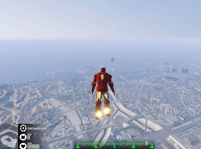Iron Man GTA 5'te!