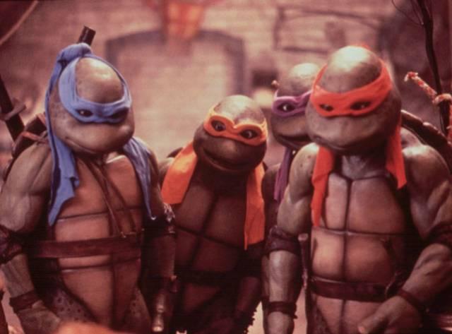 Ninja Kaplumbağalar da Bruno Mars'a Katıldı!