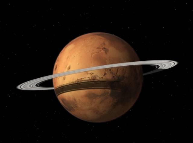 Mars'ın da Halkaları Olacak!