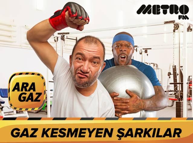 Metro FM ARA GAZ - Gaz Kesmeyen Şarkılar