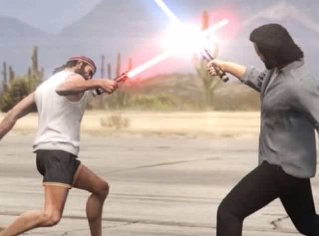GTA 5 - Star Wars Ortaklığı Tam Gaz!