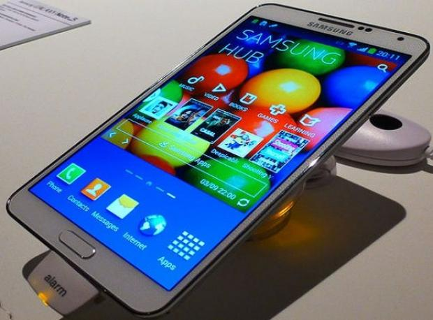 Galaxy Note 4'e Eğilme Testi