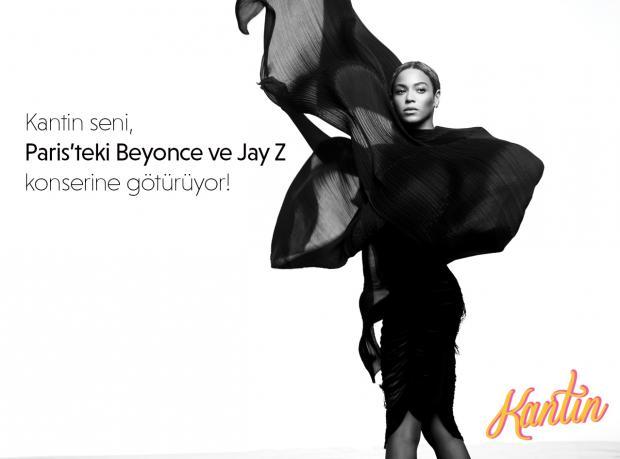 Kantin Beyoncé Konserine Götürüyor!