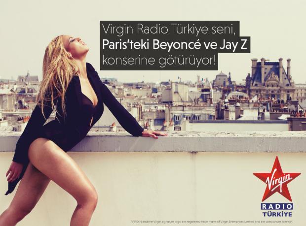 Virgin Radio Beyoncé Konserine Götürüyor!