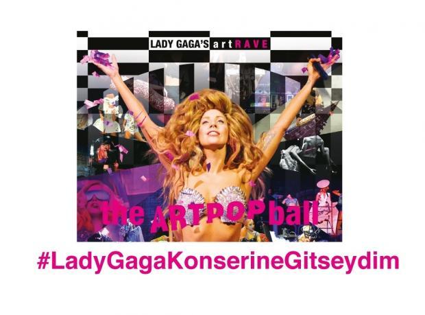 Selfie'ni Çek, Lady Gaga Konserine Davetiye Kazan!
