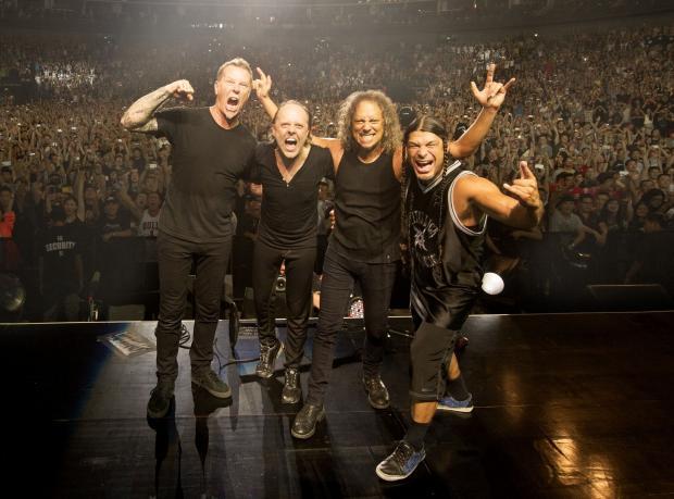 Metallica İstanbul Konser Plağı