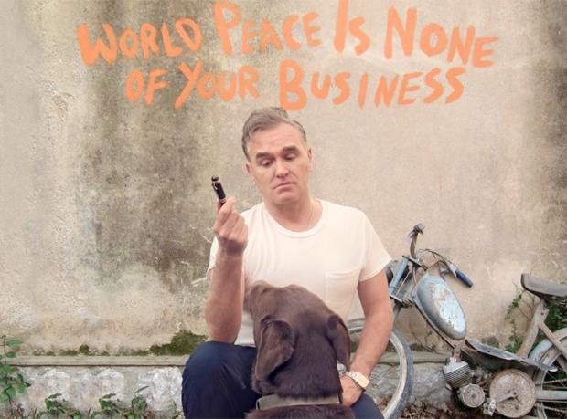 Morrissey İstanbul'da!