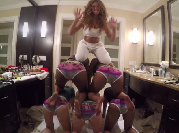 Beyonce'den Ev Yapımı Klip
